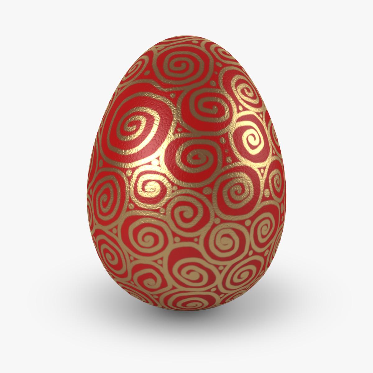 easter eggs v7 3d model