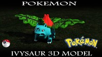 free max mode ivysaur pokemon