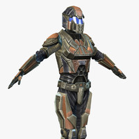 sci-fi armor female 6 3ds