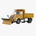 snowplow 3D models