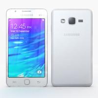 samsung z1 white 3d max