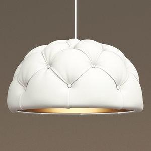 3ds max esturri capitone lamp lampara