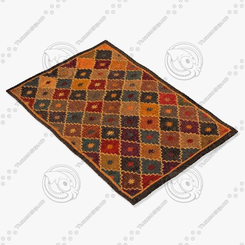jaipur rugs bd03 3d model