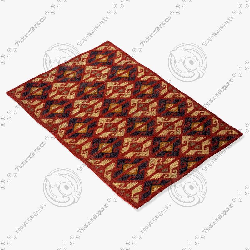 3d model jaipur rugs bd23