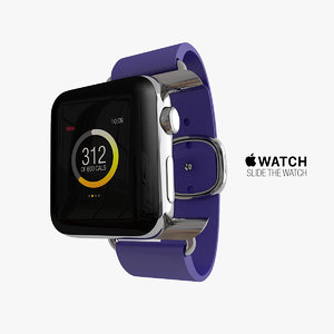 3d model of apple watch edition