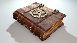 3dsmax grimoire - book spells