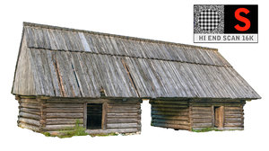 3d model country cottage