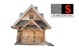 3d country cottage