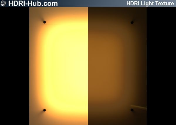 HDR Light Glass Rectangular