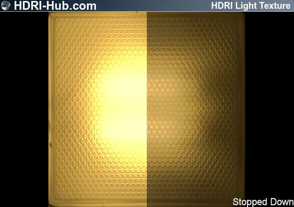 HDR Light Outdoor Ceiling Light yellow