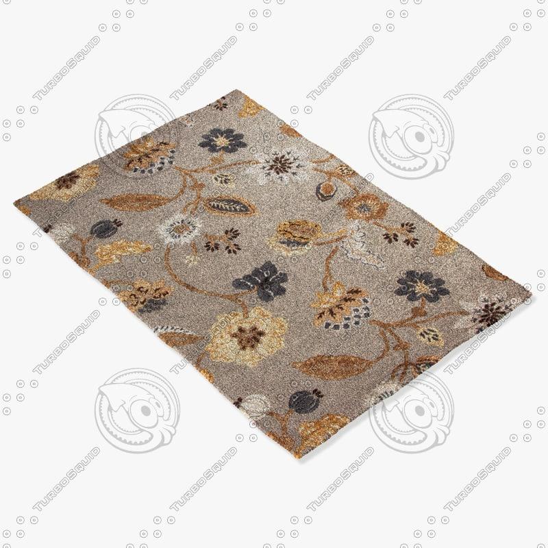 jaipur rugs bl70 3d model