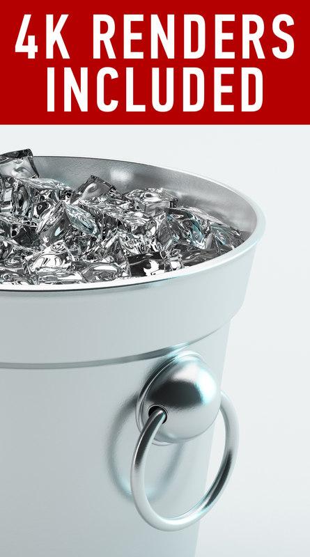 ice bucket dxf