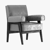 LE CORBUSIER AND PIERRE JEANNERET  armchair