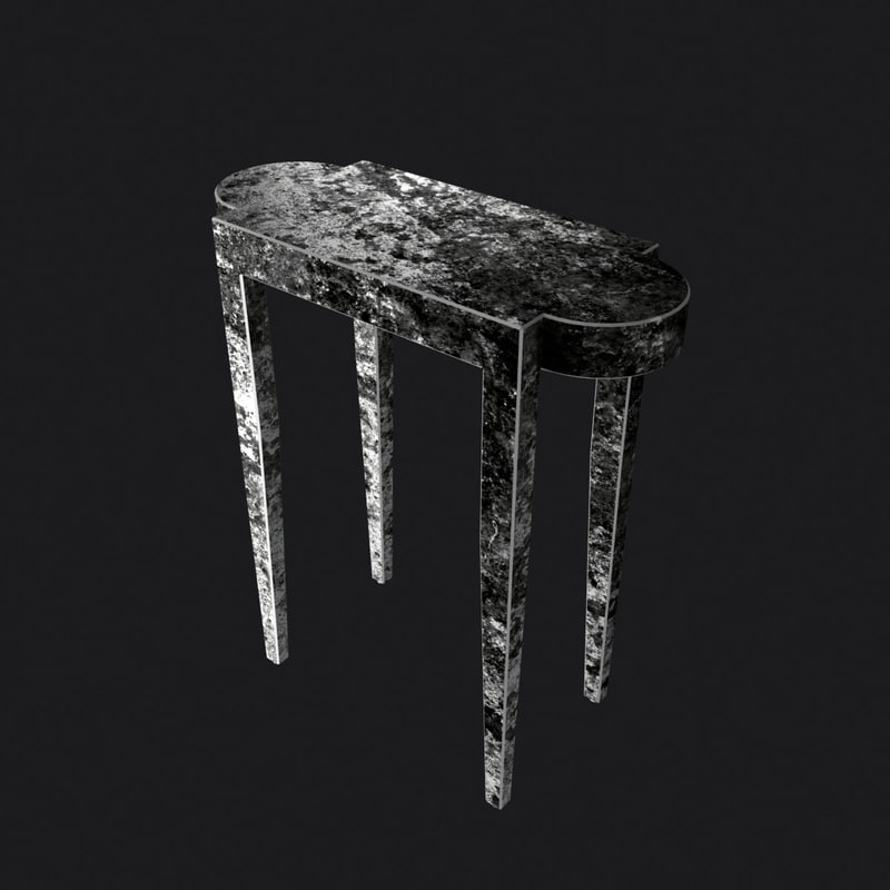 3ds max table metal