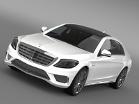 let mercedes benz s 3d model