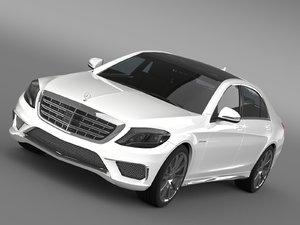 let mercedes benz s 3d model