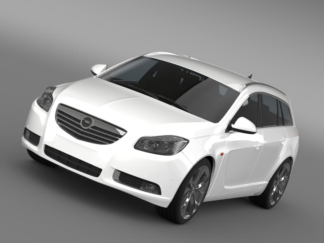 opel insignia sports tourer 3ds