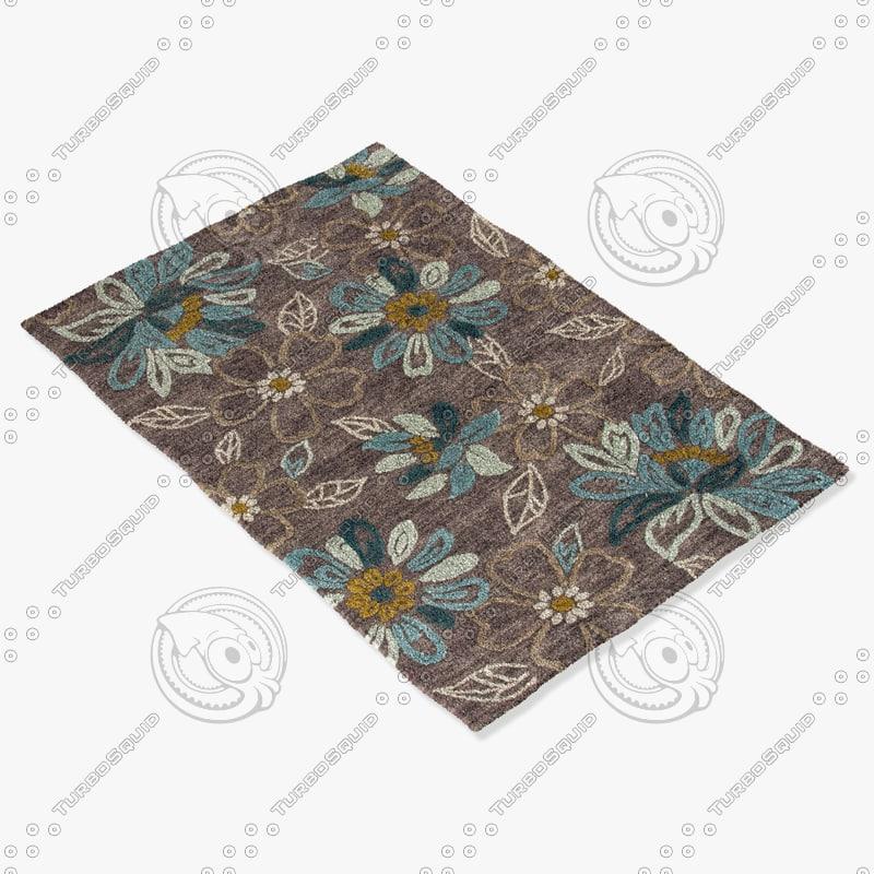 jaipur rugs br04 3d model