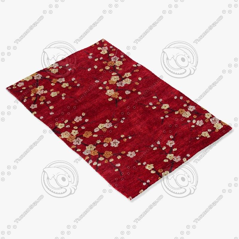 jaipur rugs br17 3d model