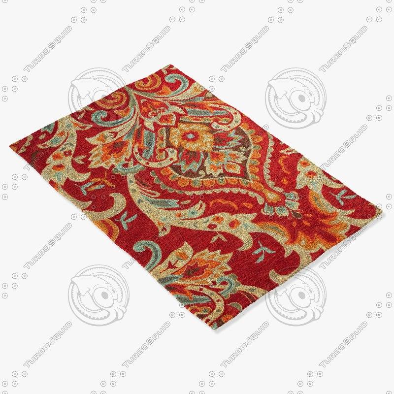 jaipur rugs br29 3d max