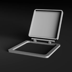 3d roof hatch