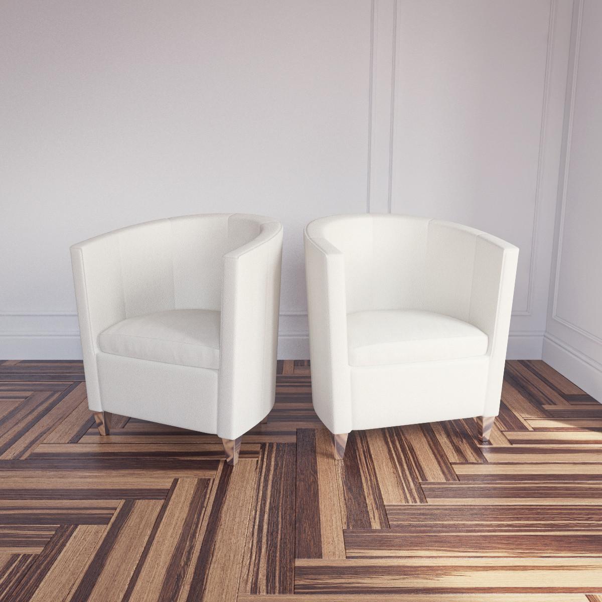3d john bronco armchair topdeq model