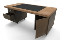 work table black 3ds