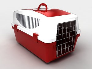 pet box 3d model