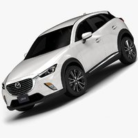 2016 Mazda CX-3 (Low Interior)
