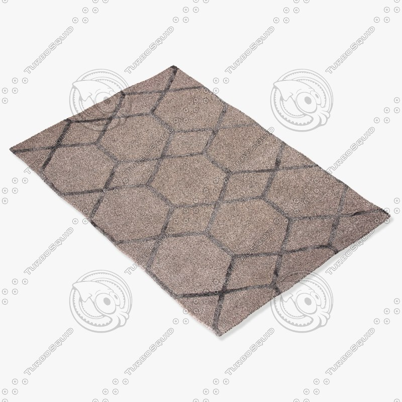 3d jaipur rugs ct15 model