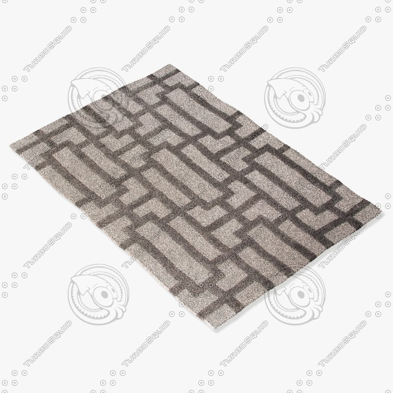 jaipur rugs ct36 3d model