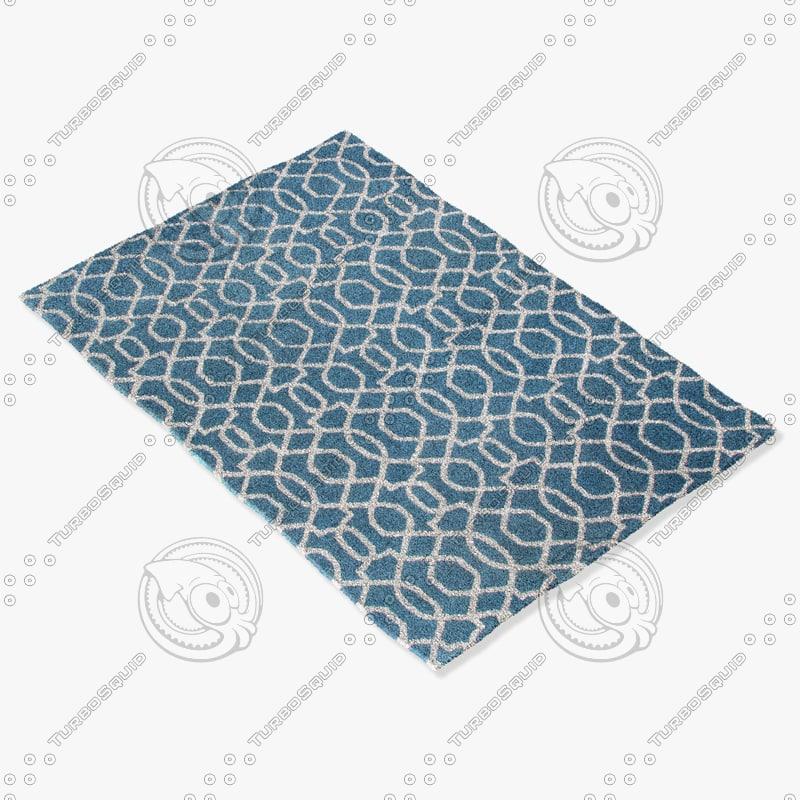jaipur rugs ct40 3d model