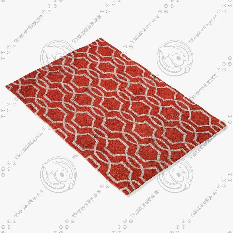 3d model jaipur rugs ct42
