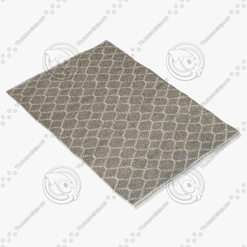 jaipur rugs ese02 3d model