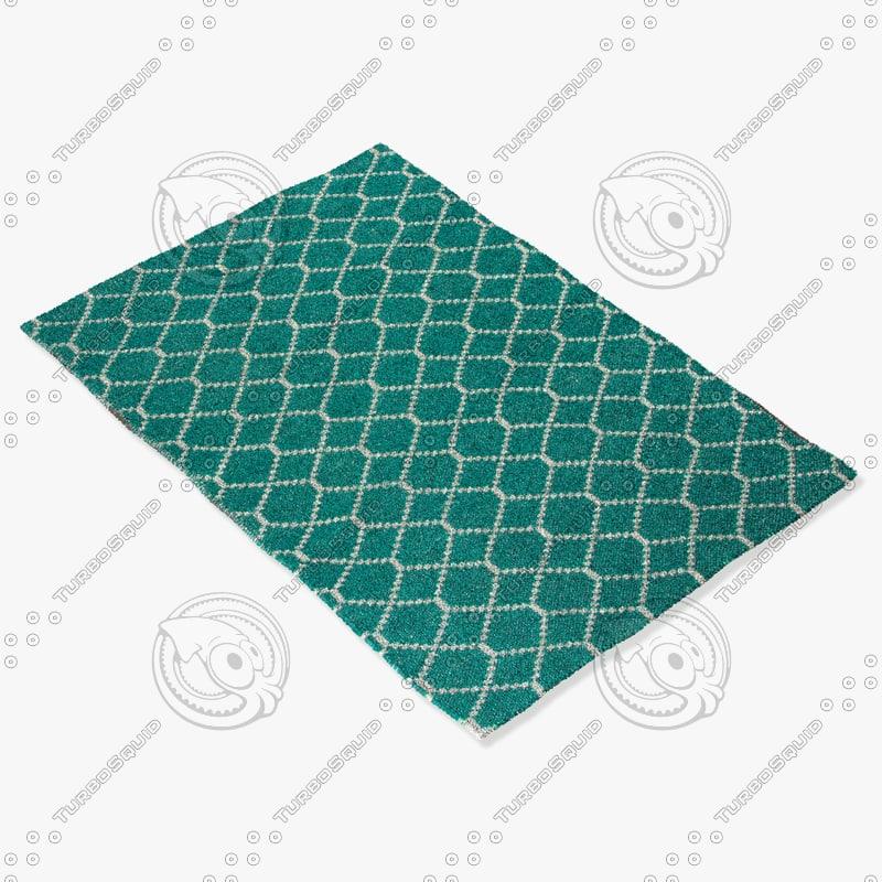 jaipur rugs ese09 3d 3ds