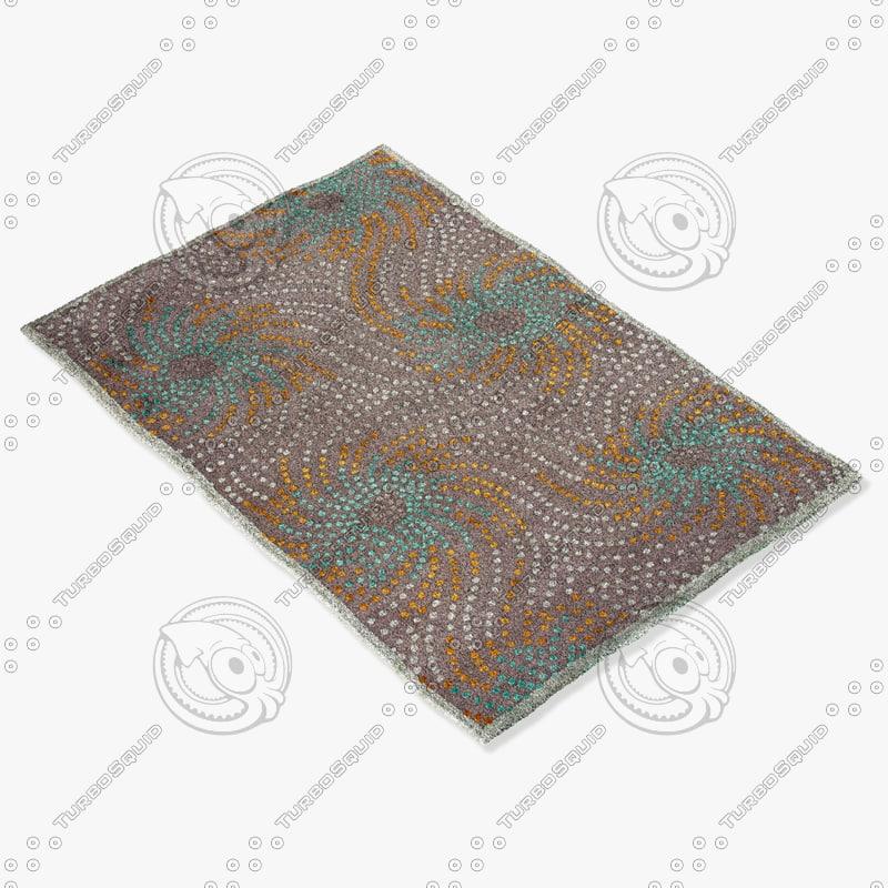 jaipur rugs fb03 3d 3ds