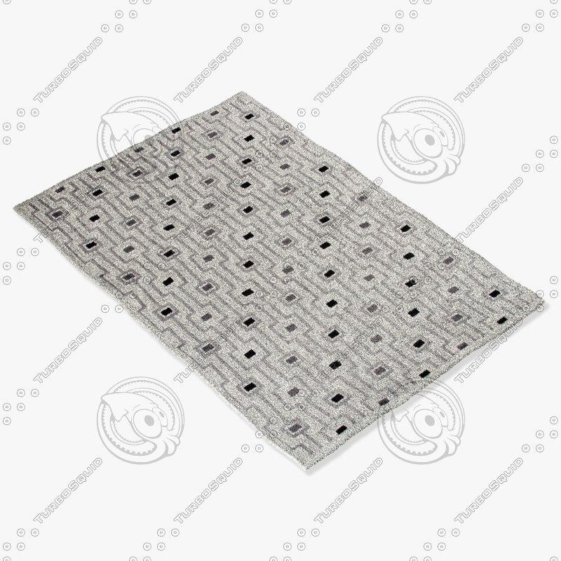 3d model jaipur rugs fb14