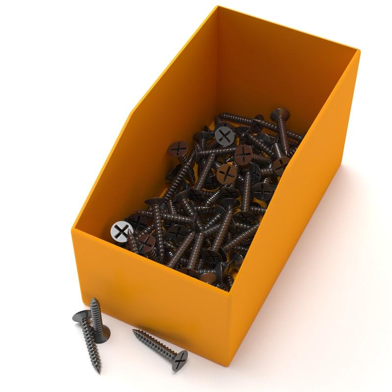 screws c 3d model