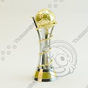 3d trophy cup future model