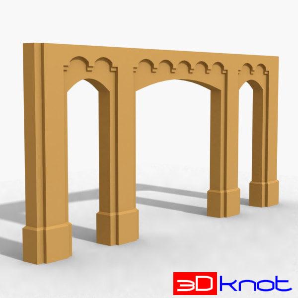 decoration architectural 3ds