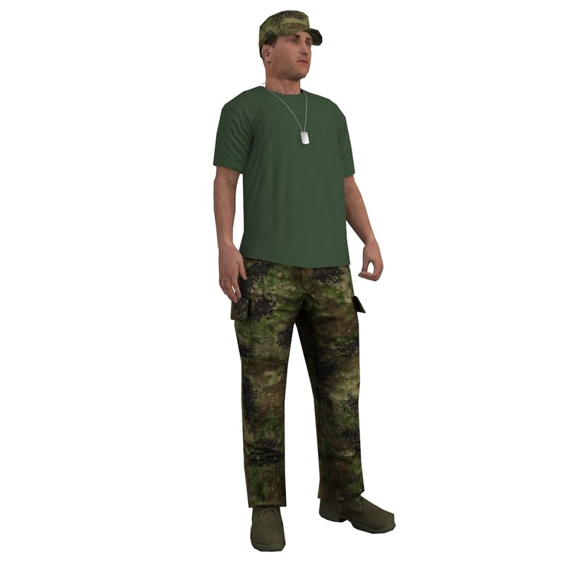 max rigged soldier