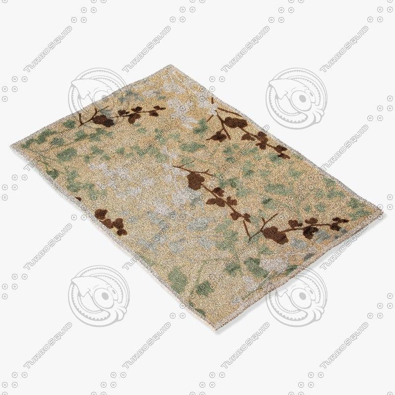 jaipur rugs fb40 3d model