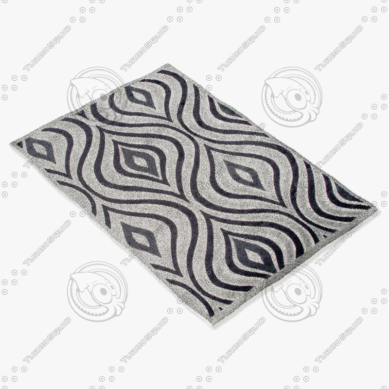 jaipur rugs fb43 3d model