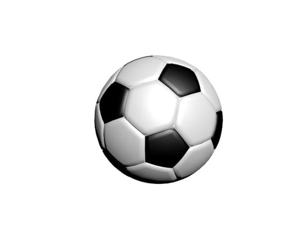 football 3d max
