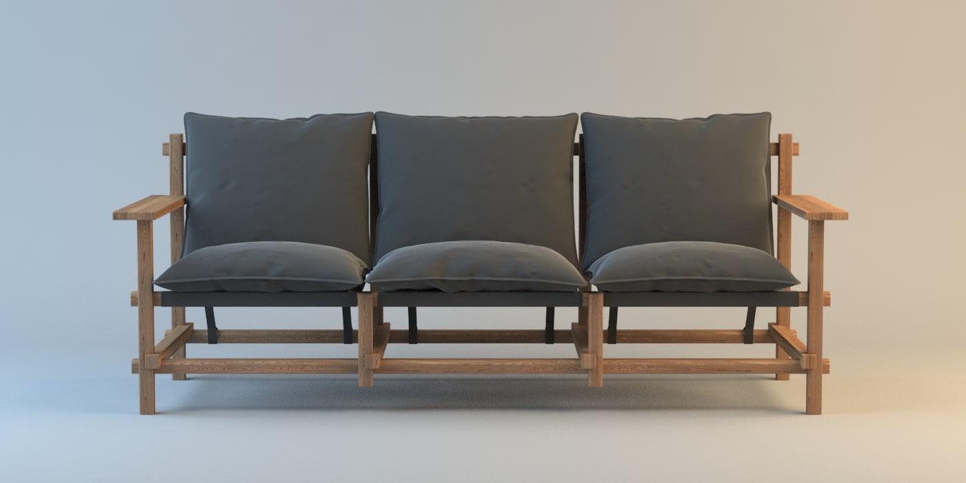 3ds max rasmus varberg sofa