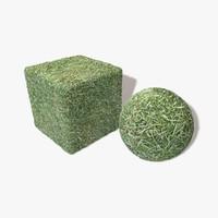 Frozen Grass Seamless Texture