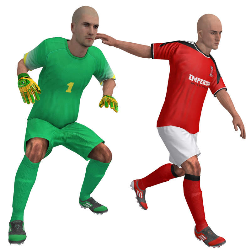 max pack rigged soccer player