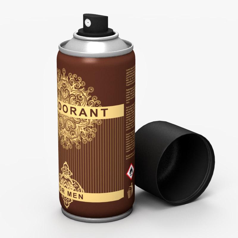 3d deodorant odor