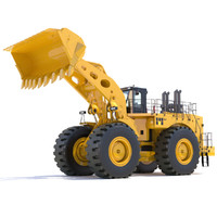 wheel loader 3ds