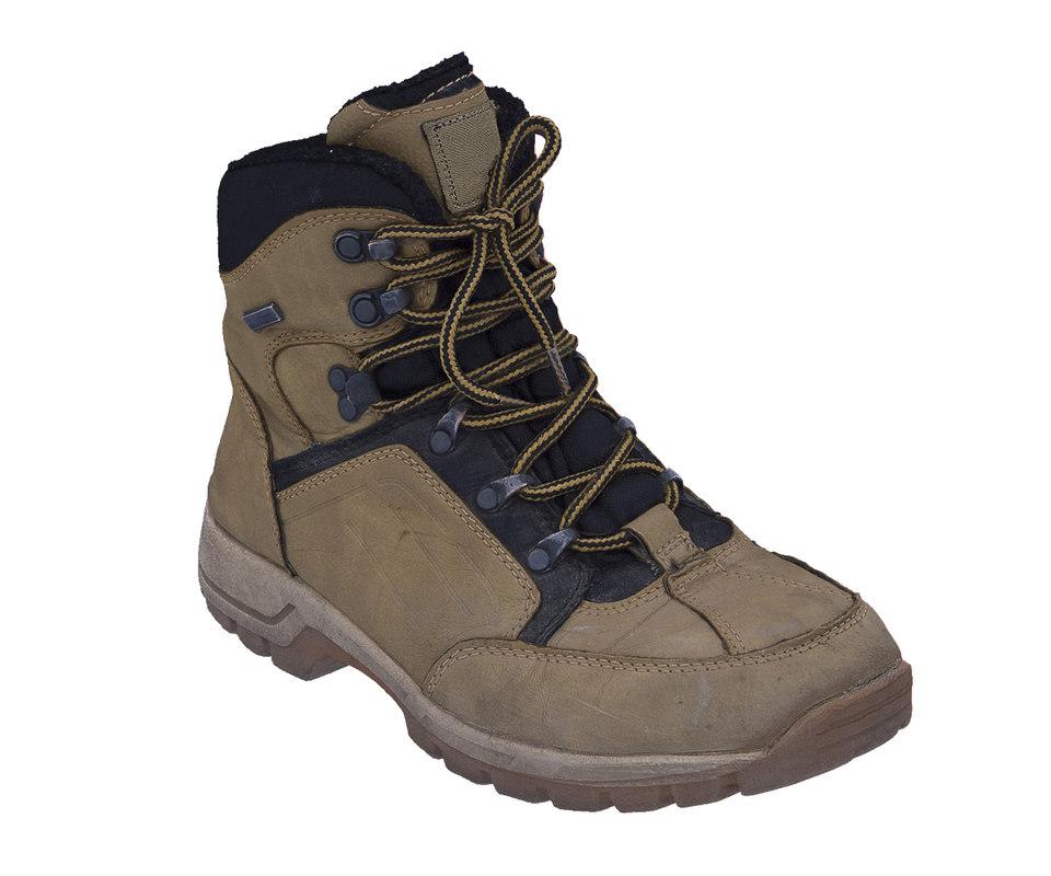 3d scan trekking boot model
